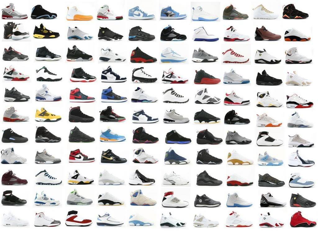 all of the air jordans ever made